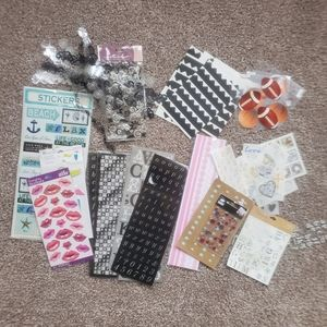 Sticker and scrapbooks get lot